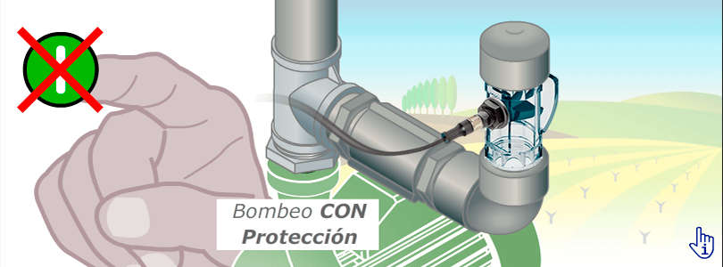 Supervision of Irrigation System with Contrasseco Sensor